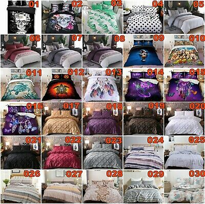 AU39.47 • Buy Single Double Queen King All Size Bed Duvet/Doona/Quilt Cover Set Dragon Feather