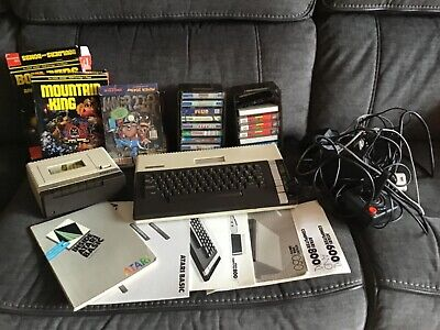 Atari 800 Xl Computer System Mint Tested With Games Cassettes & Manuals • 349.99£