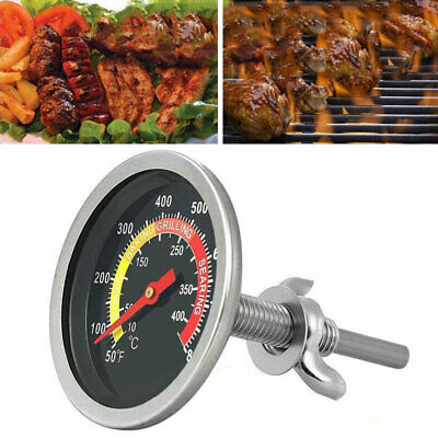 50-800℉ Stainless Steel Cooking BBQ Smoker Grill Thermometer Temperature Gauge • 5.93£