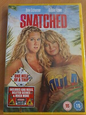 *New & Sealed* DVD - SNATCHED (2017 Amy Schumer Goldie Hawn, Comedy) UK Region 2 • 4.95£
