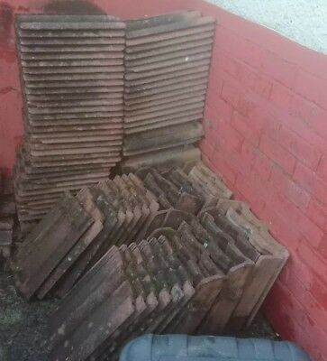 Marley And Double Roman Roof Tiles,  And Edge Used 35cm X 42cm.  • 20£