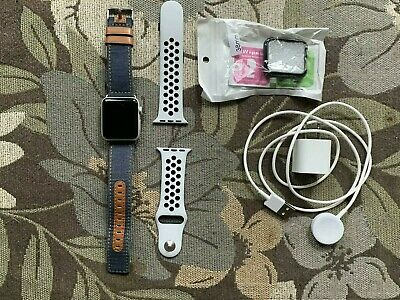 $ CDN274.05 • Buy Apple Watch SERIES 3 Nike+ 38mm Silver Aluminium Case, GPS ONLY With Extra Band