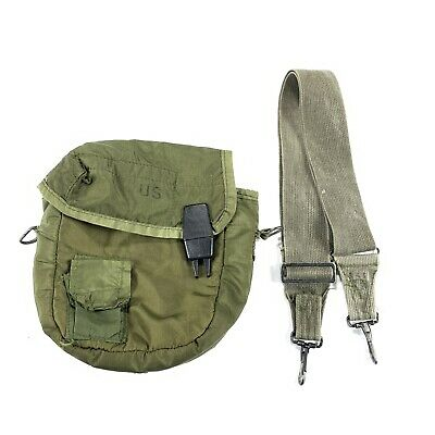 $ CDN46.12 • Buy US Military 2 Qt. Water Canteen Cover With Pile Lining And Sling Strap