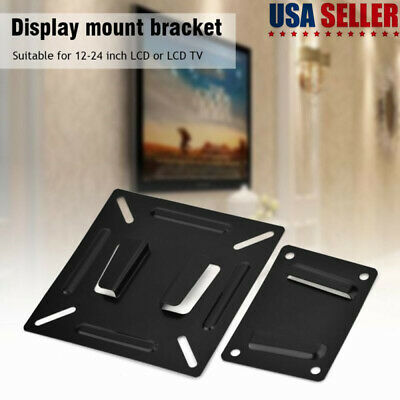 1Set Household Monitor TV Wall Bracket Mount For 12-24 Inch LCD LED TV PC Screen • 6.88£