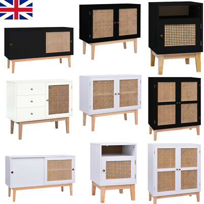 Wooden Cabinet Sideboard Buffet Cupboard Doors Storage Home Unit Shelf Furniture • 113.10£