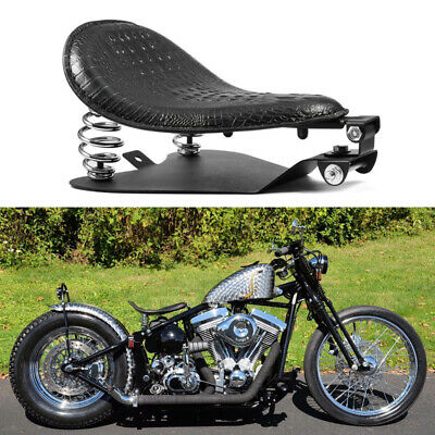 $59.50 • Buy For Harley Sportster XL 1200 883 Bobber Motorcycle Solo Seat Spring Base Black