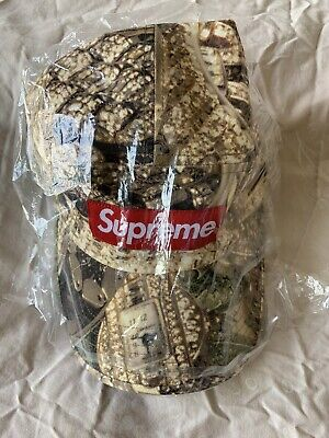 $ CDN100.56 • Buy Supreme Bling Camp Cap Box Logo Hat SS20 Green 5 Panel SOLD OUT NWT