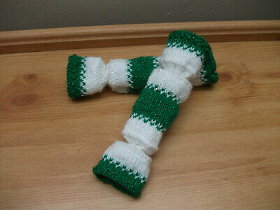 Hand Knitted Re Fillable Crackers. These Are Great For A Wedding/Christmas • 2.30£