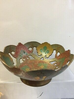 Brass Bowl / Dish Vintage Ornament Collectable Decorative 6 Inch X 3 Inch • 6.99£