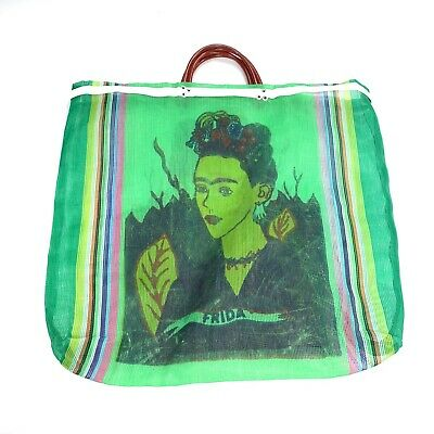 $34.99 • Buy Frida Kahlo Mesh Beach Travel Tote Bag