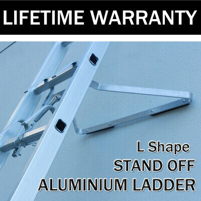 £36.30 • Buy Universal Alum Ladder Stand-Off V-shaped Downpipe - Ladder Accessory, Easy Use