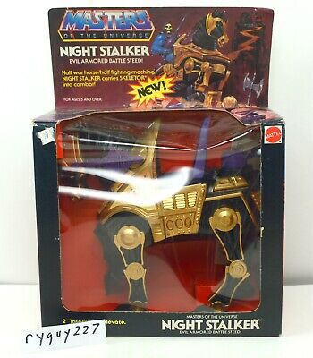 $295 • Buy MOTU, Night Stalker, Masters Of The Universe, MISB, Sealed Box, He-Man, MOC