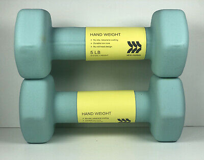 $ CDN40.17 • Buy Pair Of 5 Pound Hex Dumbbells All In Motion 5lb Hand Weight