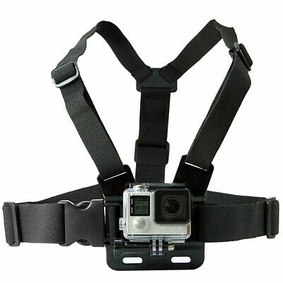 AU7.99 • Buy Chest Body Strap Mount Adjustable Belt Accessory For ALL GoPro HERO 8 7 6 5 4 3+