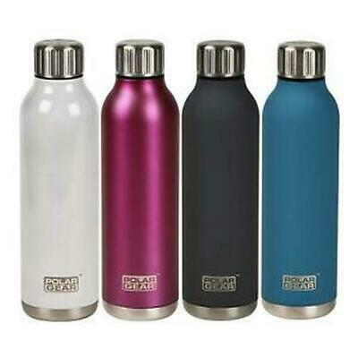 £13.99 • Buy Stainless Steel Hot Cold Water Bottle -Insulated Metal Sport & Gym Drinks Flask