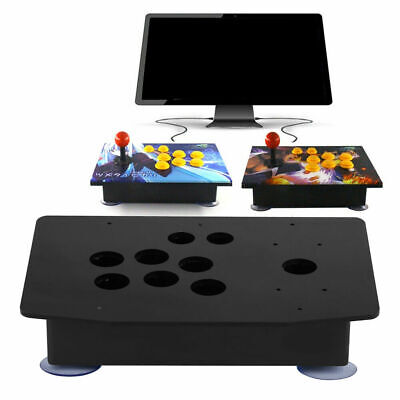 $25.13 • Buy DIY Arcade Joystick Kits Acrylic Multiple Artwork Panel Flat Case Box NEW