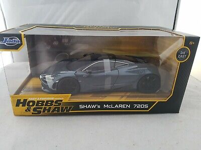 AU44.75 • Buy Fast And The Furious Shaw's McLaren 720S Diecast Car Jada 1:24