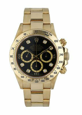 $ CDN42220.66 • Buy Rolex Daytona Zenith 16528 Diamond Dial Men's Watch