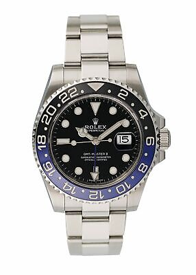 $ CDN20022.91 • Buy Rolex GMT Master II 116710 Batman Mens Watch