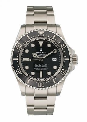 $ CDN16342.65 • Buy Rolex Sea Dweller Deepsea 126660 Mens Watch With Box And Papers
