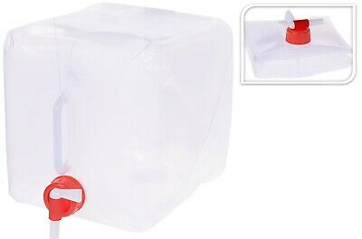 £7.99 • Buy 10 Litre Collapsible Jerry Can Water Carrier Container Food Grade Plastic
