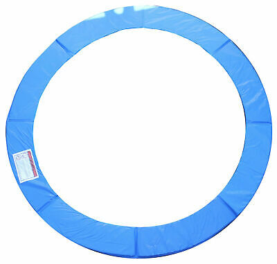 AU59.95 • Buy 8FT 10FT 12FT REPLACEMENT Trampoline Frame Pads + FREE NETTING ENCLOSURE BLUE