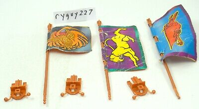 $250 • Buy MOTU, Eternia, Flag Pole & Clip, Masters Of The Universe, Parts, Pieces, Lot