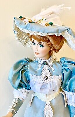 $ CDN132.63 • Buy Elegant Victorian Porcelain Doll-Limited Edition Collectible Porcelain Doll New