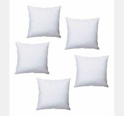 """£8.99 • Buy Set 2, 4, 6, 10 Polyester Filling Cushion Inner Pillows Pads 18"""" X 18"""" & 16""""x16"""""""