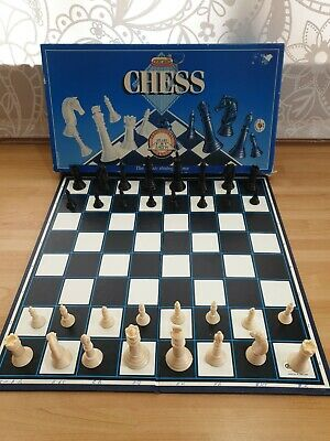 Vintage Spears Games CHESS SET British Board Game 1984 Classic Strategy Game • 4£