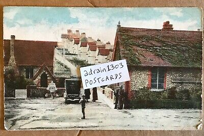 1919 Rottingdean Neville Road Old Car People Houses Homewood Series Burgess Hill • 18£