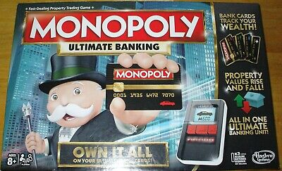 $19.99 • Buy Monopoly ULTIMATE Electronic Banking CREDIT CARD 2016 MINT COND. 100% COMPLETE!