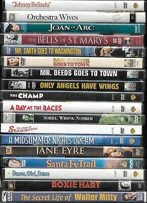 £3.61 • Buy Vintage Films On DVD From The 1920s, '30s, '40s, '50 And '60s Combined Shipping