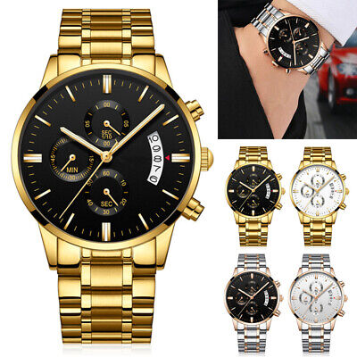 $ CDN31.45 • Buy NIBOSI Waterproof Casual Watch Men Luxury Brand Quartz Military Sport Watch