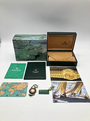 $ CDN167.68 • Buy Rolex Genuine Yacht Master16622 Watch Box Case 68.00.55 Booklet Card Case 061500