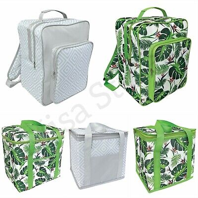 Travel Picnic Camping Beach  Insulated Cool Cooler Bag Backback Ice Box Food • 9.99£