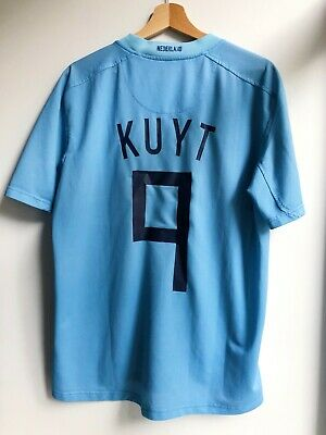 Rare The Netherlands 2008/2010 Kuyt #9 Nike Football Away Shirt Jersey Size M • 45£