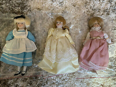 $ CDN18.93 • Buy GORHAM - PORCELAIN DOLL COLLECTION - PORCELAIN - LOT OF 3  Pre - Owned Only