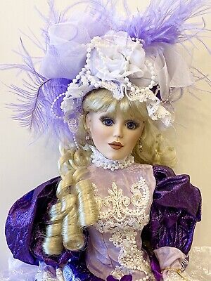 $ CDN744.34 • Buy Beautiful Victorian Porcelain Doll-Limited Ed.Collectible Porcelain Dolls-New