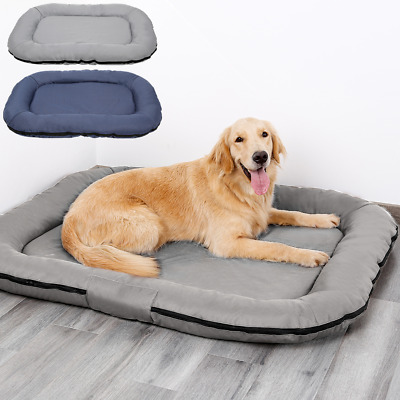 Waterproof Oxford Dog Bed Cushion Heavy Duty Puppy Pet Mattress Tough Washable • 28.99£