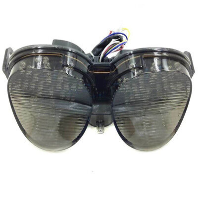 $30.47 • Buy Smoke Brake LED Tail Light Turn Signal For Yamaha R6 2001-2002 XJR1300 2005-14