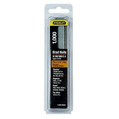 Stanley 0-SWKBN100 25mm 18-Gauge Brad Nails (1000 Pieces) • 5.53£