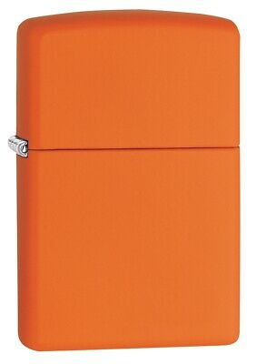 $18.23 • Buy Zippo Classic Orange Matte Windproof Pocket Lighter, 231