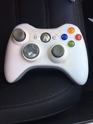 AU59.95 • Buy GENUINE XBOX 360 WIRELESS CONTROLLER WHITE Microsoft Free Postage Original