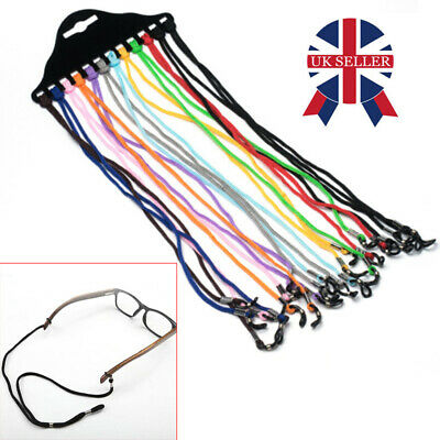 12X Glasses Neck Cord Strap String Lanyard Chain Sunglasses Reading Spactacles. • 2.99£