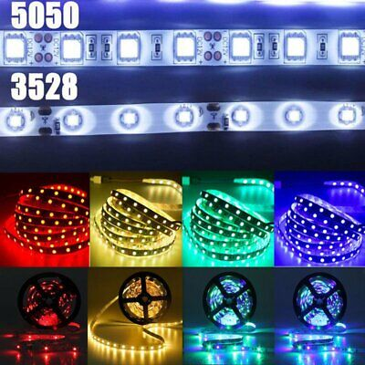 $13.99 • Buy 5-20 Meters Flexible Strip Light 3528 5050 RGB LED SMD Lights Room Party Decor