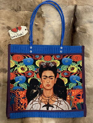 $28.50 • Buy Frida Kahlo Morral Mercado Market Bag Mexican Tote Bag