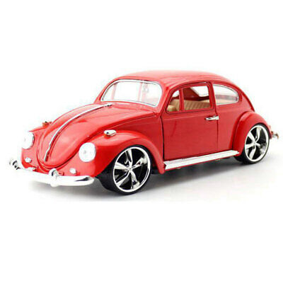 Vintage VW Beetle Superior 1967 1:18 Model Car Diecast Toy Collection Gift Red • 26.98£