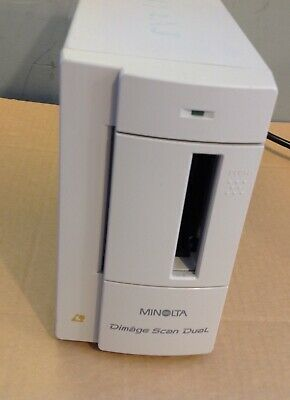 £70 • Buy Minolta F-2400 Dimage Scan Dual Film Side Scanner . No Parallel Cable Added