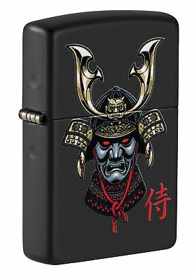 $28.45 • Buy Zippo Samurai Helmet Design Black Matte Windproof Pocket Lighter, 49259